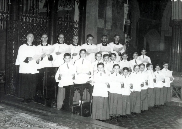London  All Saints, Margaret Street,  1964