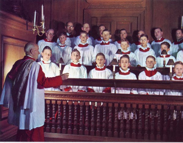 Chapel Royal, Hampton Court Palace, 1984