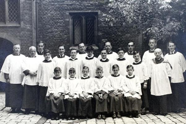 Chapel Royal, Hampton Court Palace, 1953