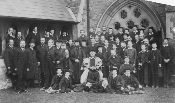 Tenbury,  St Michael's College,  1881