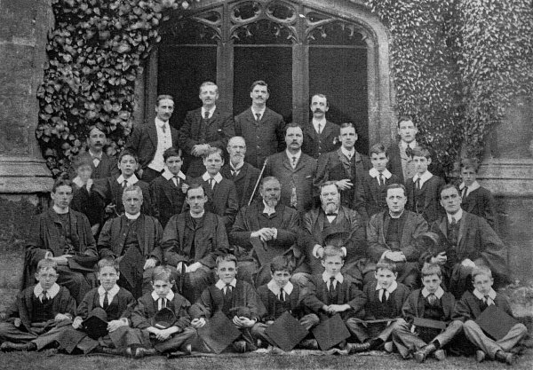 Oxford  Magdalen College, 1907