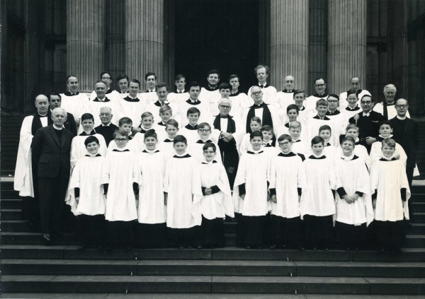 St Paul's Cathedral Sunday Evening choir, 1967