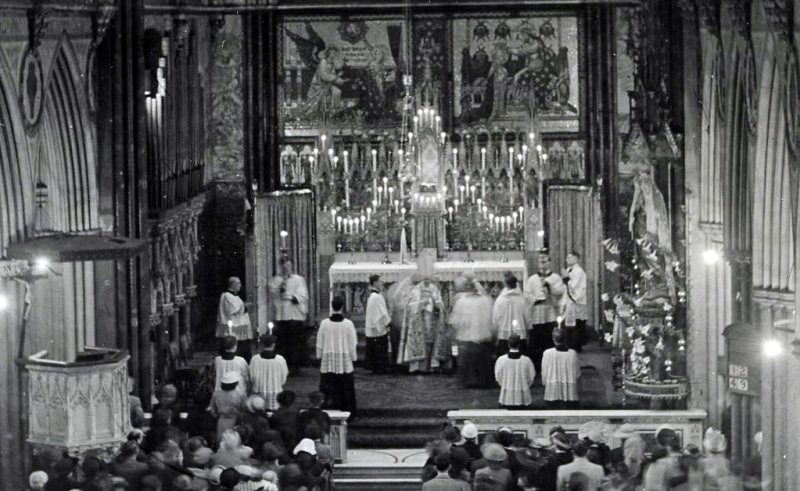High Mass at the church of the Immaculate Conception, 1926